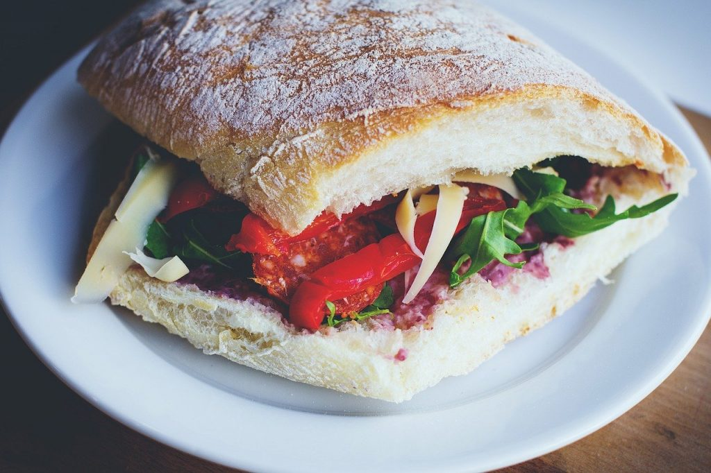 blur, bread, close-up